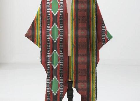 Kwanzaa Regalia Kimono