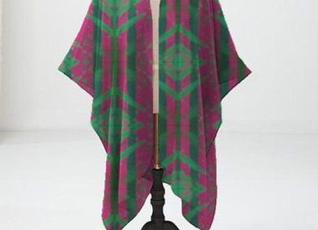 Pink and Green Motif