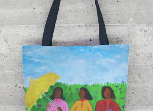 Sisters Talk Tote Bag
