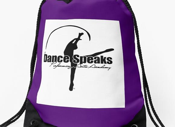 Dance Speaks Strudy Drawstring Bag
