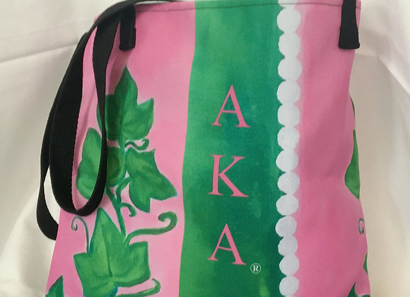 AKA® Sturdy Fashion Tote Bag