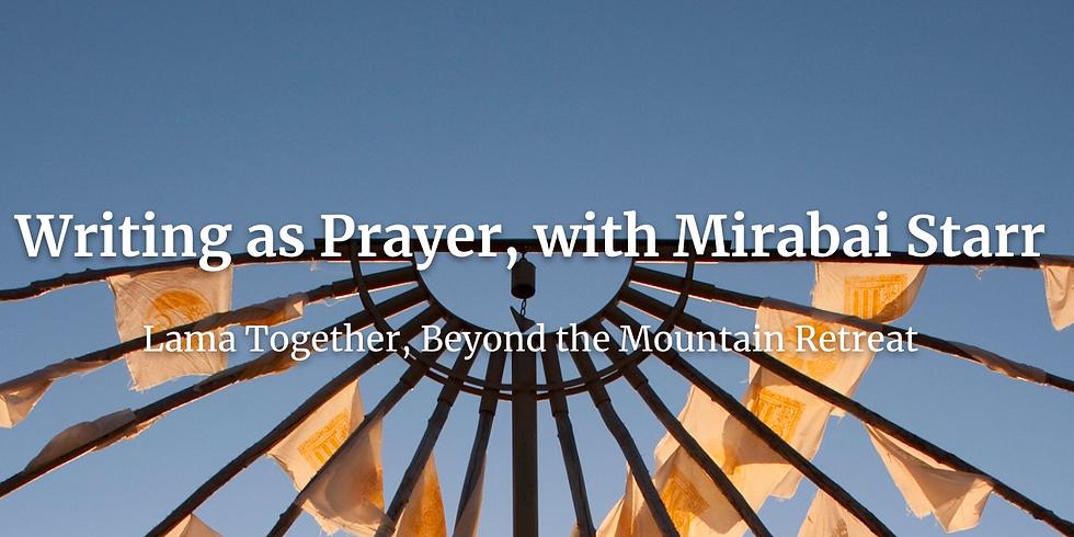 Writing as Prayer