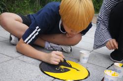 학교폭력예방디자인, 사이사이_송파구_학생+주민 아트프로젝트