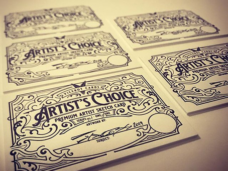 Bring on the Sketch Cards