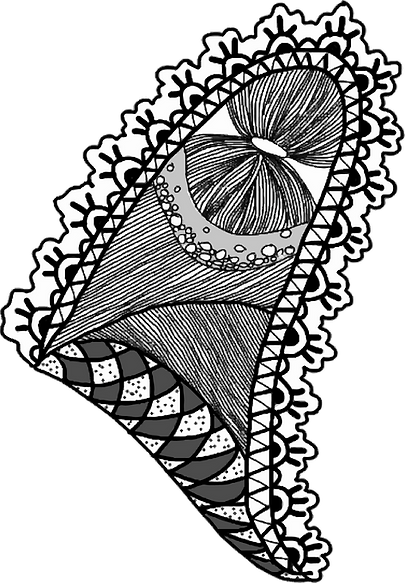 Illustration from poetry published by Fióna Bolger