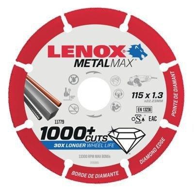 """דיסק יהלום לחיתוך מתכת 115 מ""""מ לנוקס"""