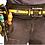 Thumbnail: חגורה כלי עבודה מרופדת לפאוצ'ים אבזם פלסטיק TOUGHBUILT