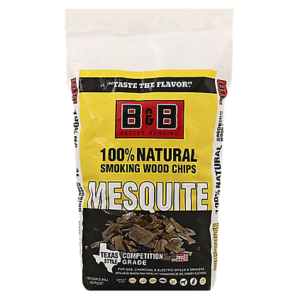 B&B Mesquite Wood Chips 750g