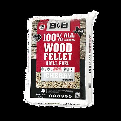 B&B Cherry Wood Pellets 20lb/9kg