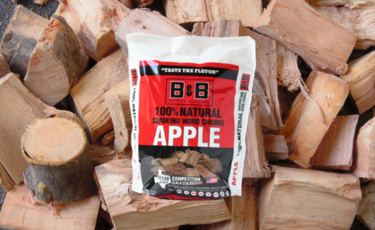 B&B Apple Wood Chunks 3.1kg