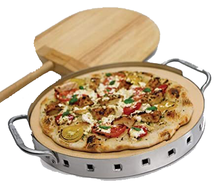 Broil King Professional Pizza Stone W/SS Support