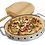 Thumbnail: Broil King Professional Pizza Stone W/SS Support