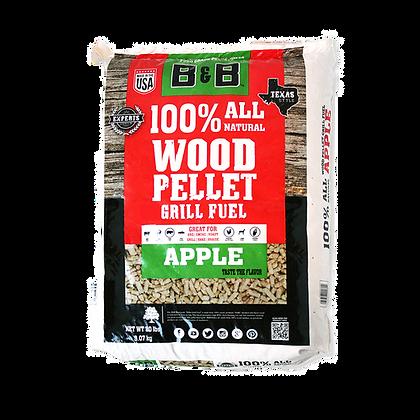 B&B Apple Wood Pellets 20lb/9kg