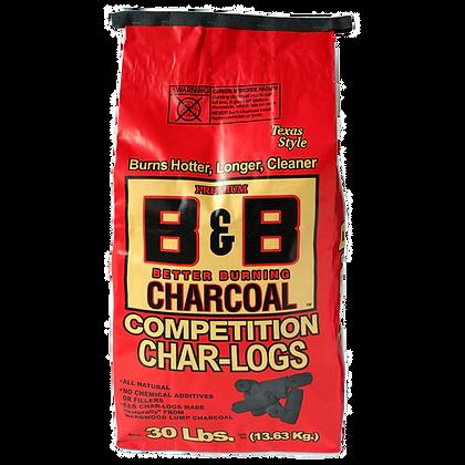 B&B Competition Char Logs 30lb/13.5kg