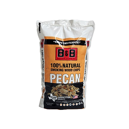 B&B Pecan Wood Chips 750g
