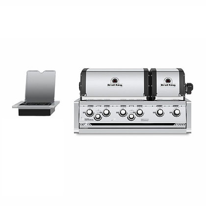 Broil King Imperial XLS Built in with Side Burner