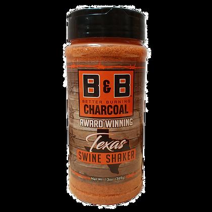 B&B Charcoal Texas Swine Shaker Seasoning
