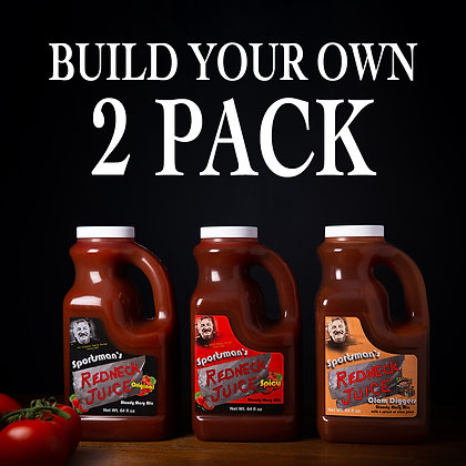 Build Your Own Two-Pack - 2 x 64oz