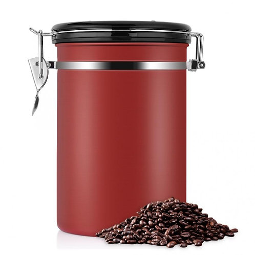 Airtight Stainless Steel Coffee Container