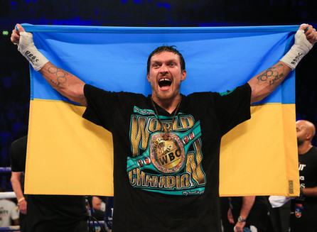 Oleksandr Usyk Is The BWAA 2018 Fighter Of The Year