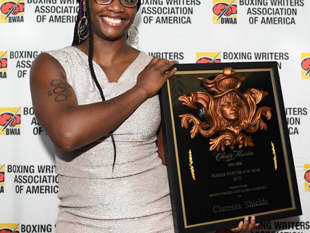 Claressa Shields Tops The BWAA's Women's Pound-For-Pound List For The First Time