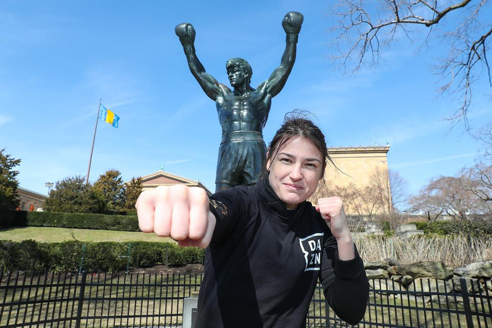 Katie Taylor punched out 2019 in style (Photo by Ed Mulholland/DAZN)