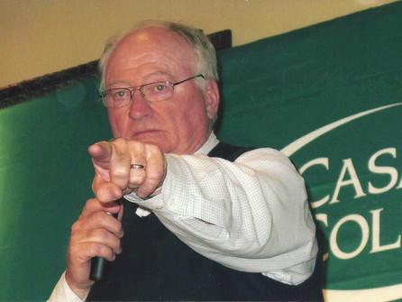 BILL DWYRE 44TH RECIPIENT OF NAT FLEISHER AWARD
