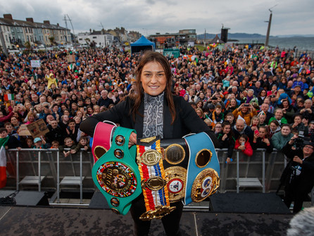 Katie Taylor Is The BWAA's 2019 Female Fighter of the Year