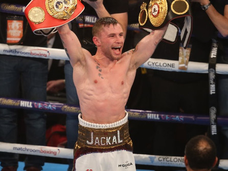 CARL FRAMPTON MAKES HISTORY IN BECOMING FIRST IRISHMAN TO WIN BWAA FIGHTER OF THE YEAR