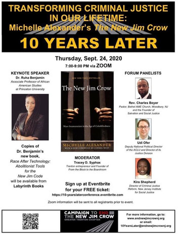 Campaign To END The New Jim Crow 10 Year