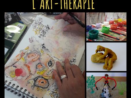 Zoom sur une pratique happy :  l'art-thérapie