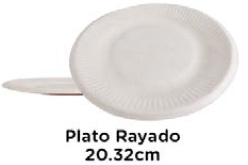 Plato Rayado 20.32cm