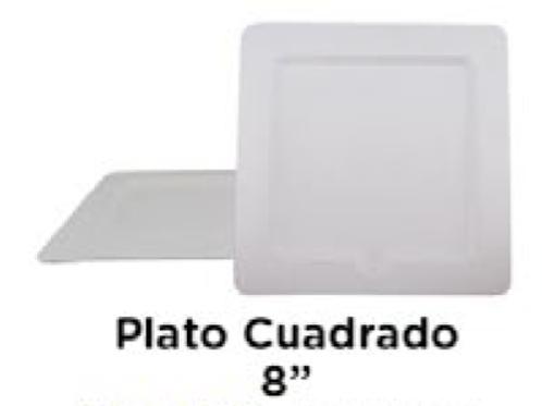 """Plato Cuadrado 8"""""""