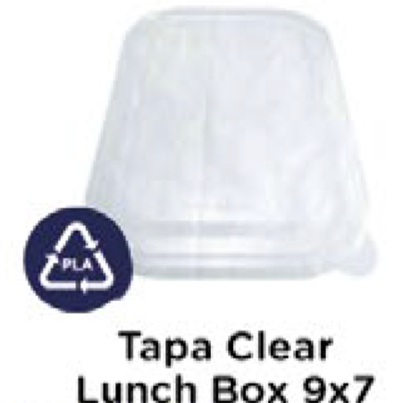 Tapa Clear Lunch Box