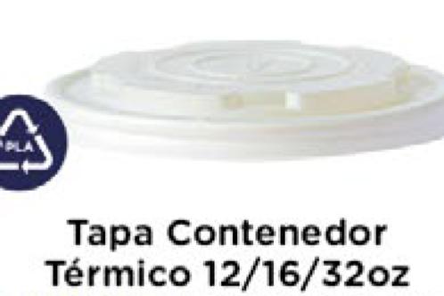 Tapa Contenedor 12/16/32oz