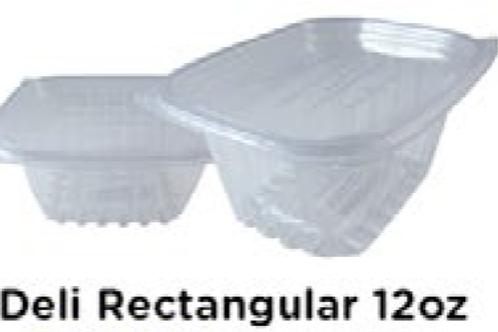 Deli Rectangular 12oz