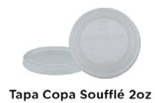 Tapa Copa Souffle 2oz