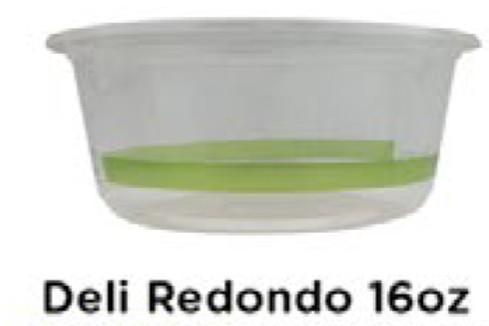 Deli Redondo 16oz