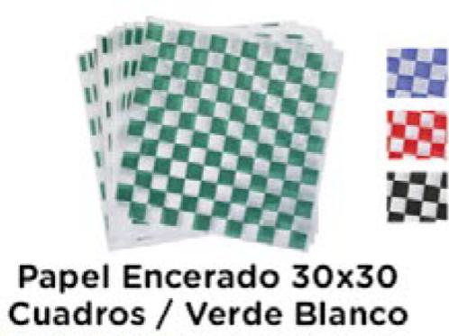Papel Encerado 30x30