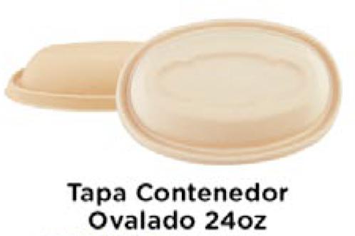 Tapa Contenedor Ovalado 24oz