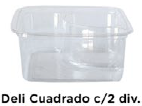 Deli Cuadrado c/2 divisiones