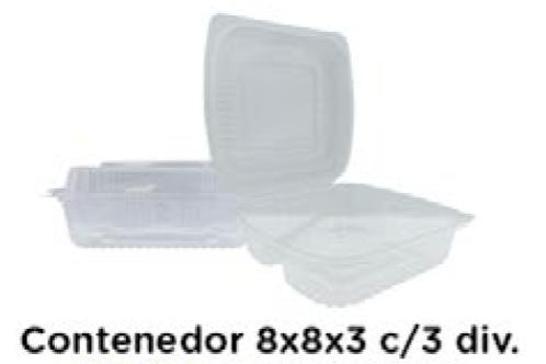 Contenedor 8x8x3 con Division