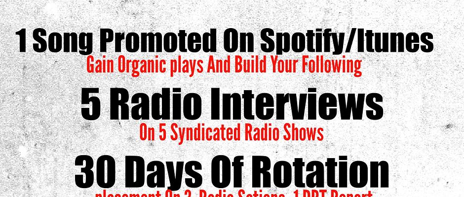 Spotify/Itunes Promo