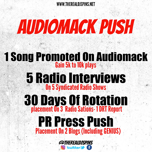 Audiomack Push