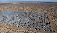 Solar Panels at McCoy Solar Facility in Blythe California
