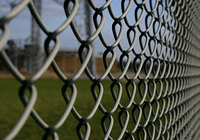Chainlink Fence Construction Barrier