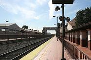 sideview of metrolink track in los angeles