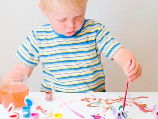 Роль простой раскраски в развитии ребенка.