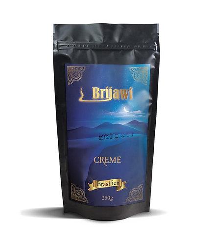Brijawi Bohnenkaffee Creme 250g