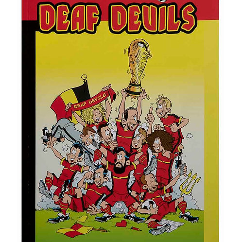 """De stripboek """"Deaf Devils"""""""